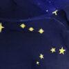 SLW06-Azul Con diseño de estrellas
